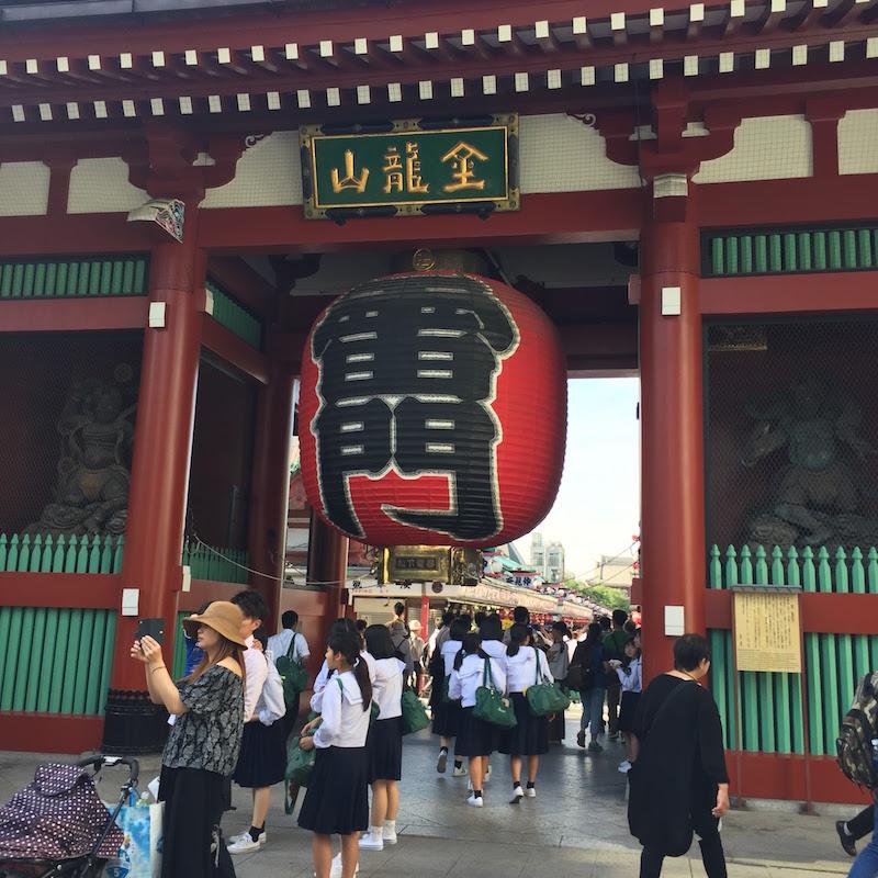 Asakusa Sensoji Temple in Tokyo for local sightseeing